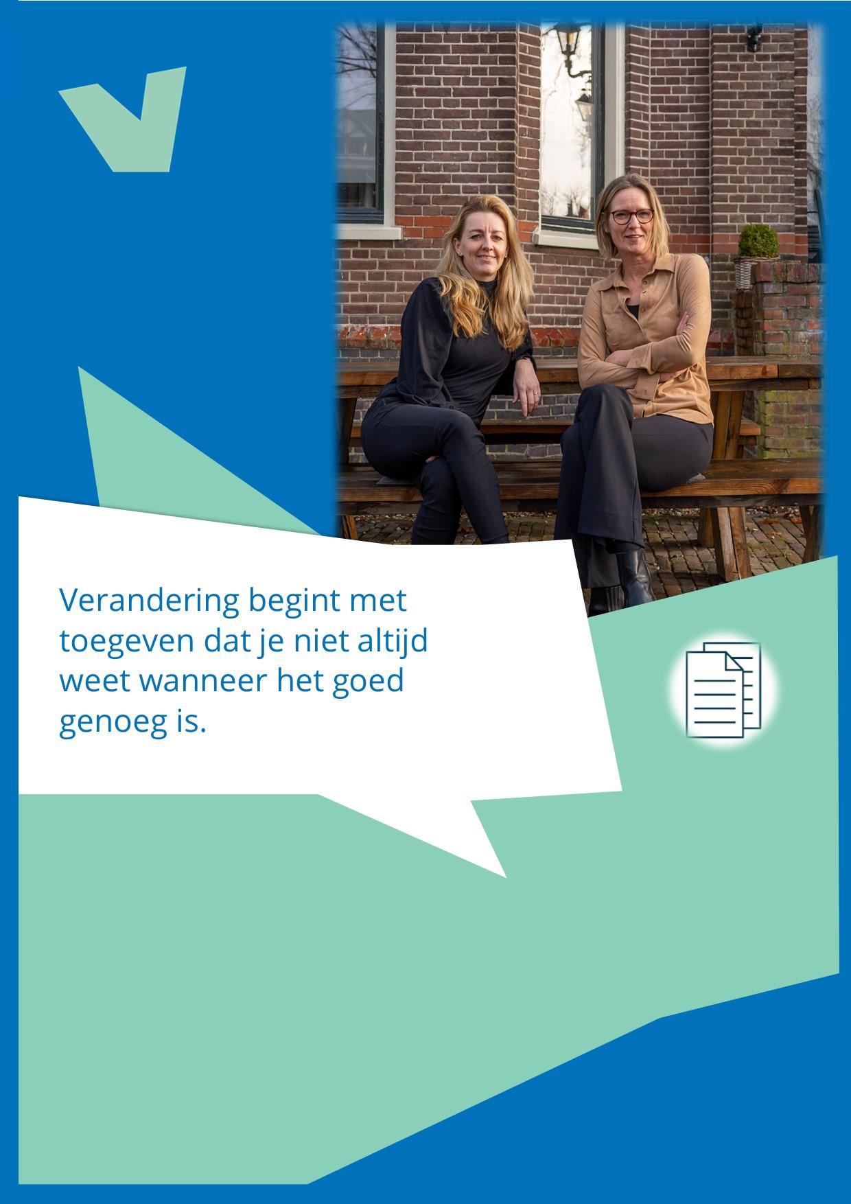 Ieneke van Weringh en Jorien Benthem
